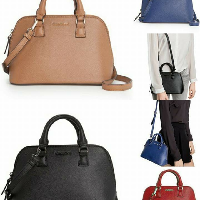Brand New 16 Mango Touch Las Handbag Slingbag Leather Blue Black Fashion Christmas Party Chic Work Play Women S Bags Wallets On