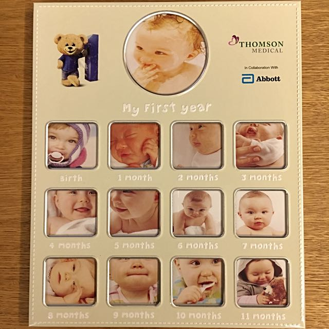 Brand New Baby 12 Months Photo Frame Babies Kids On Carousell