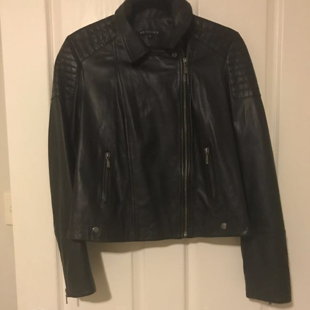 BRIEFING - Leather Jacket