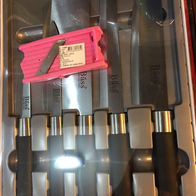 Báss5件式刀組