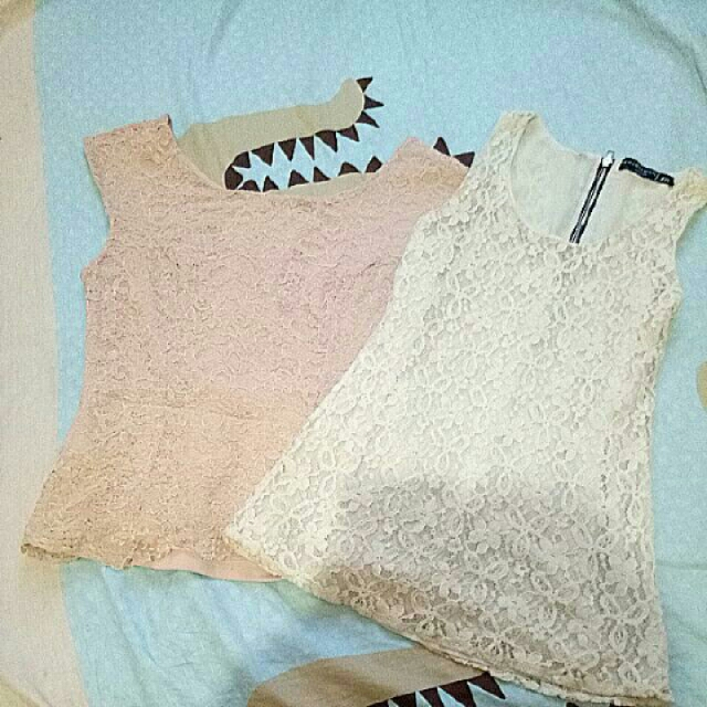 bundle lace top