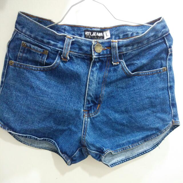 #Buy1Get1Free Highwaist Denim Shorts