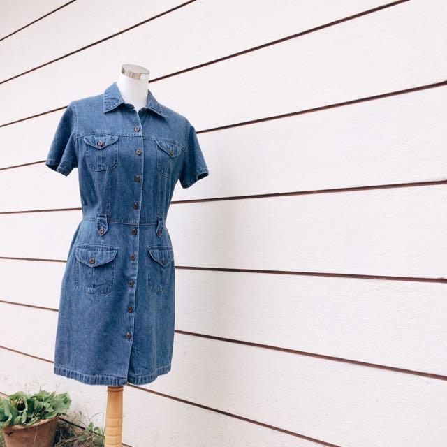 [C99] Denim Dress