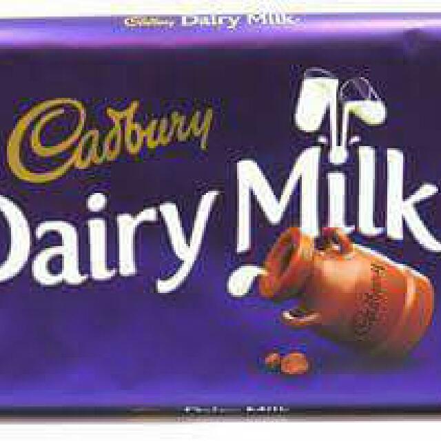 Cadbury Dairy Milk 100grams