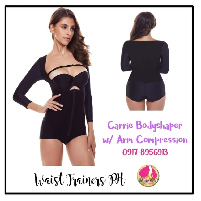 Carrie Slimming Body Shaper with Full Arm Compression