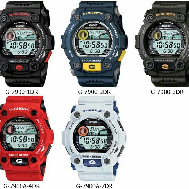 53af0697a107 Casio G-SHOCK G7900 series (5jenis colour)