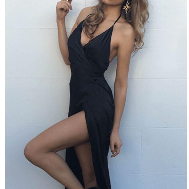 Chiffon Boutique Black Ball Dress