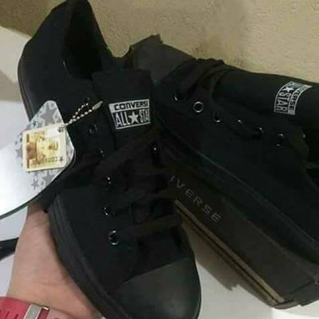 Class A All Black Converse Size 6 31468d950