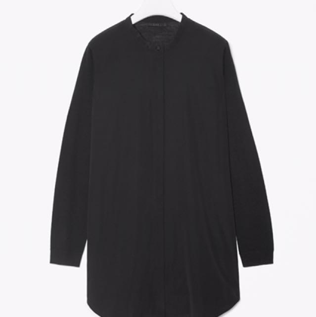 6a2f7e43213 COS Merino Wool & Silk Shirt, Women's Fashion, Clothes, Tops on ...