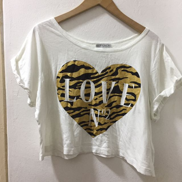 Cotton On Crop Top Size L