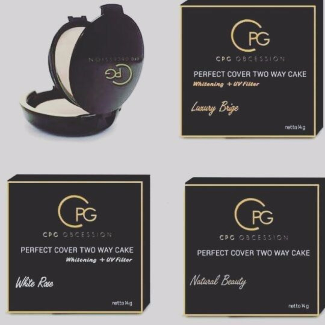Cpg Perfect Cover Two Way Cake Compact Powder By Cik Puan Gojez Maybelline Bedak 2 Pcs Health Beauty Makeup On Carousell