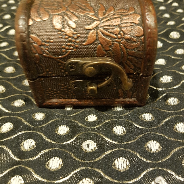 Crafted Vintage Treasure Box