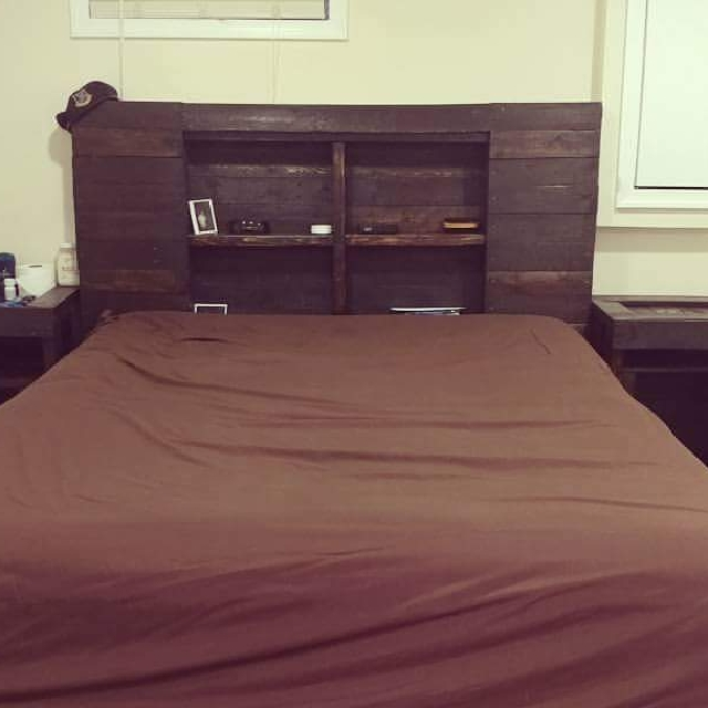 Custom Bed Frames With Headboard Furniture On Carousell