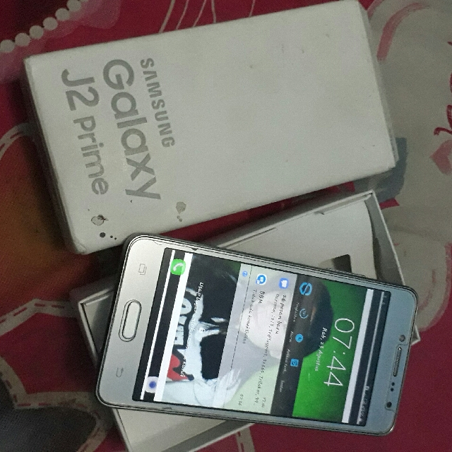 Di JUAL CEPAT Samsung J2 Prime Silver Telepon Seluler Tablet Carousell