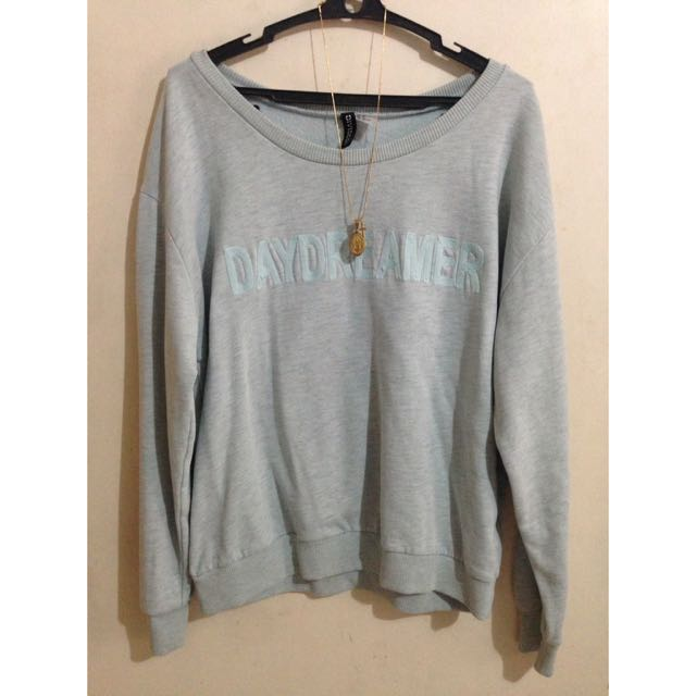 Divided by H&M Mint Green 'Daydreamer' Pullover Sweater