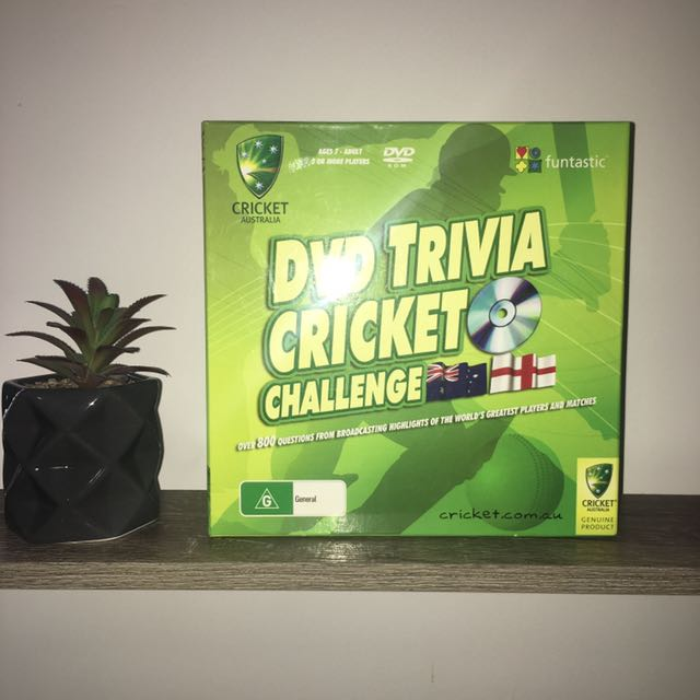 DVD Cricket Trivia Game