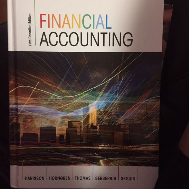 Fifth Canadian Edition Financial Accounting