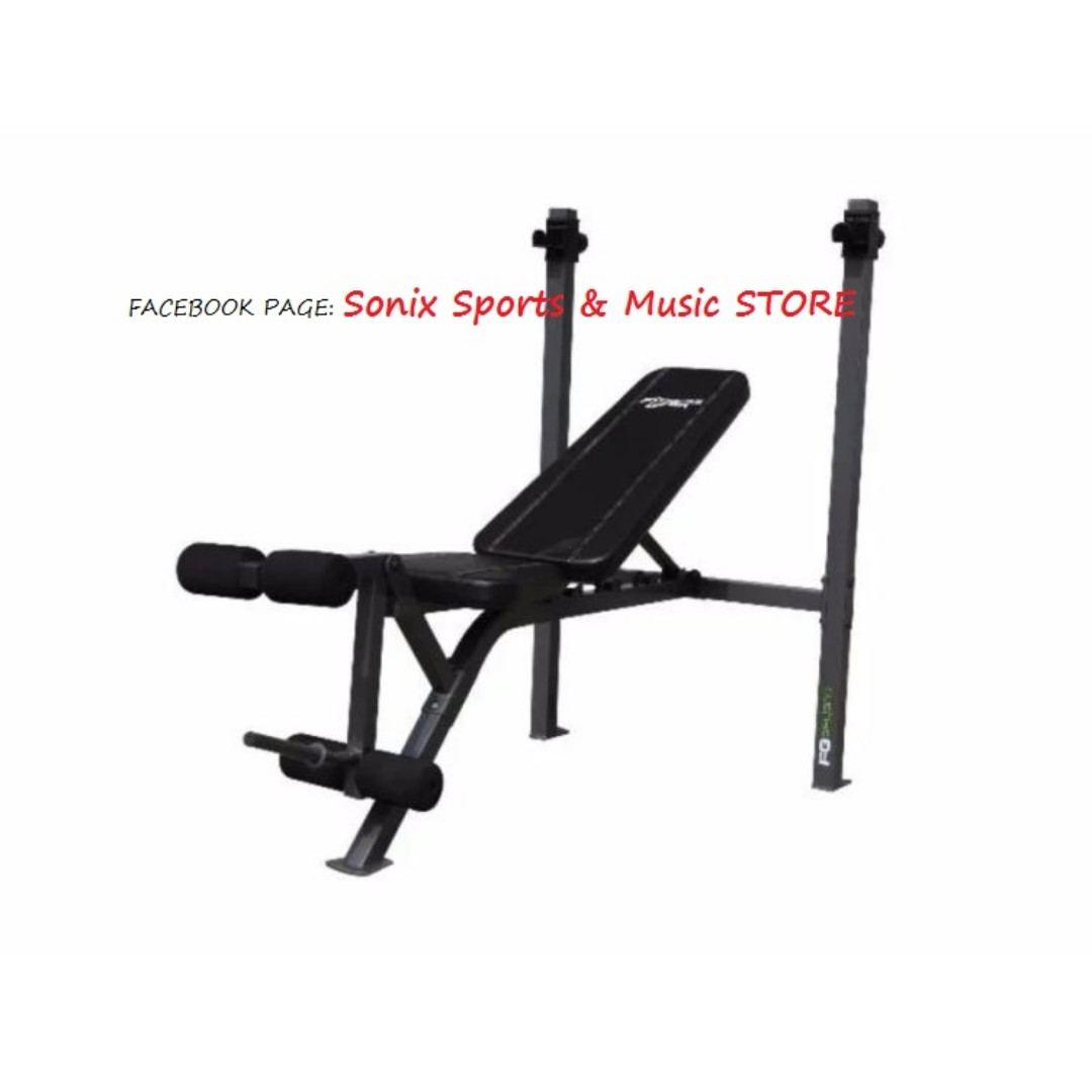 Fitness Gear Standard Weight Bench Press Wp109 On Carousell