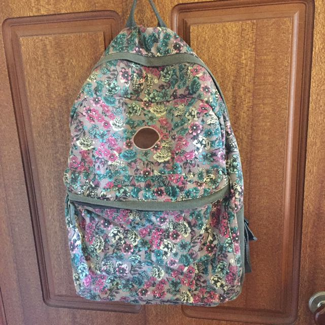 Floral Billabong Backpack