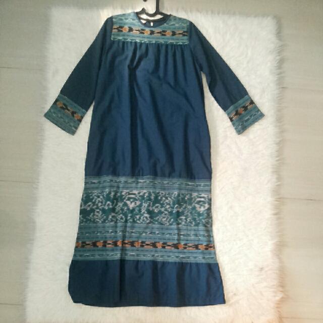Gamis Batik Hijau