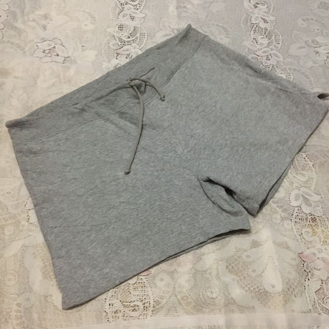 Gap Gray Sweatshirt Jogger Shorts