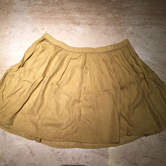 GAP Skirt In Mustard