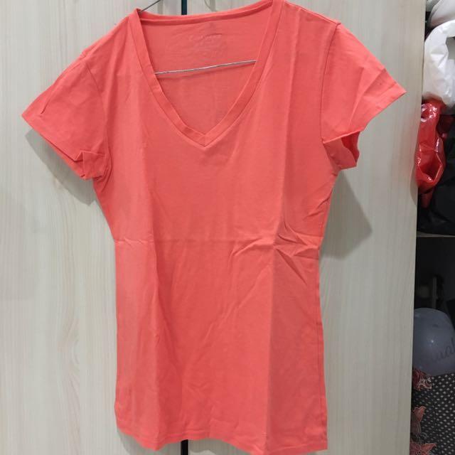 Giordano Peach Shirt