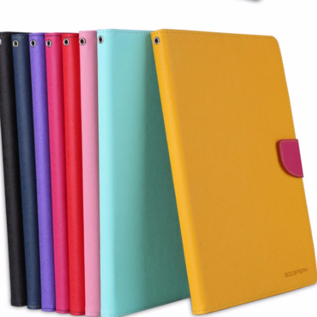 Mercury Goospery Fancy Diary Case For Samsung Galaxy Tab 4 101 Ungu S8 Plus Mint Navy S3 97 S2 80