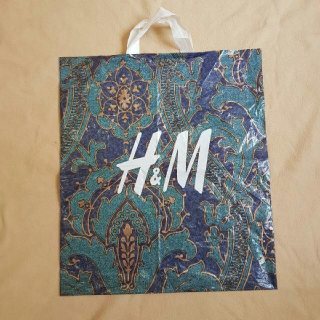 H&m Plastic Bag