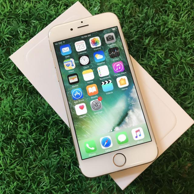 Iphone 6 32GB Gold MY Set Underwarranty Apple ad42b73088