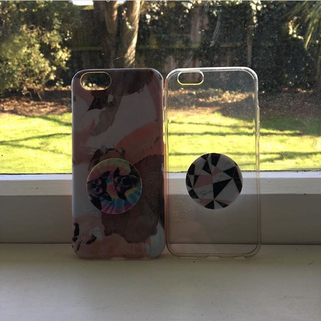 iPhone 6/s cases with popsockets