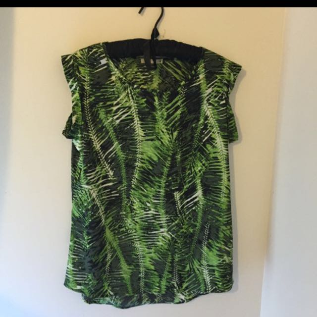 Jungle Patterned Work Top