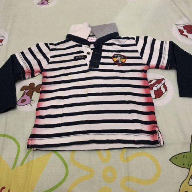 Kaos Anak Snoopy Baby