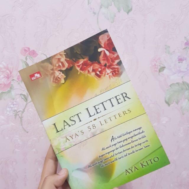 Last Letter Aya's 58 Letters