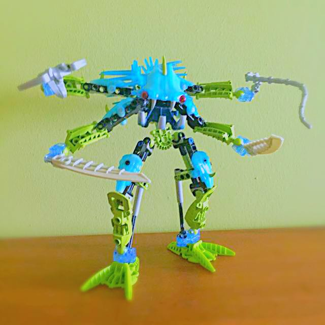 Lego Bionicle 2007 Titan Nocturn Toys Games Bricks Figurines