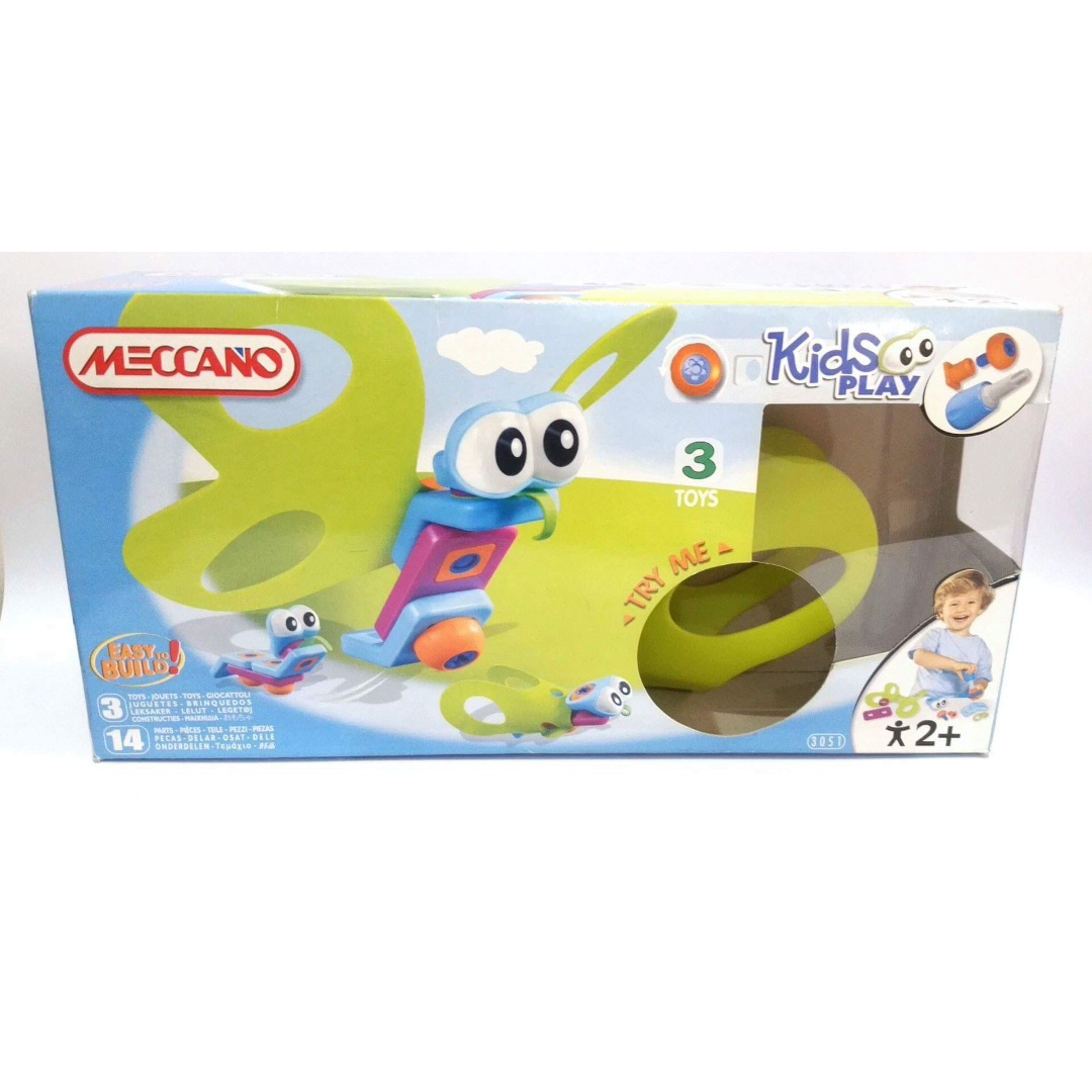 Like New Meccano Kids Play Butterfly