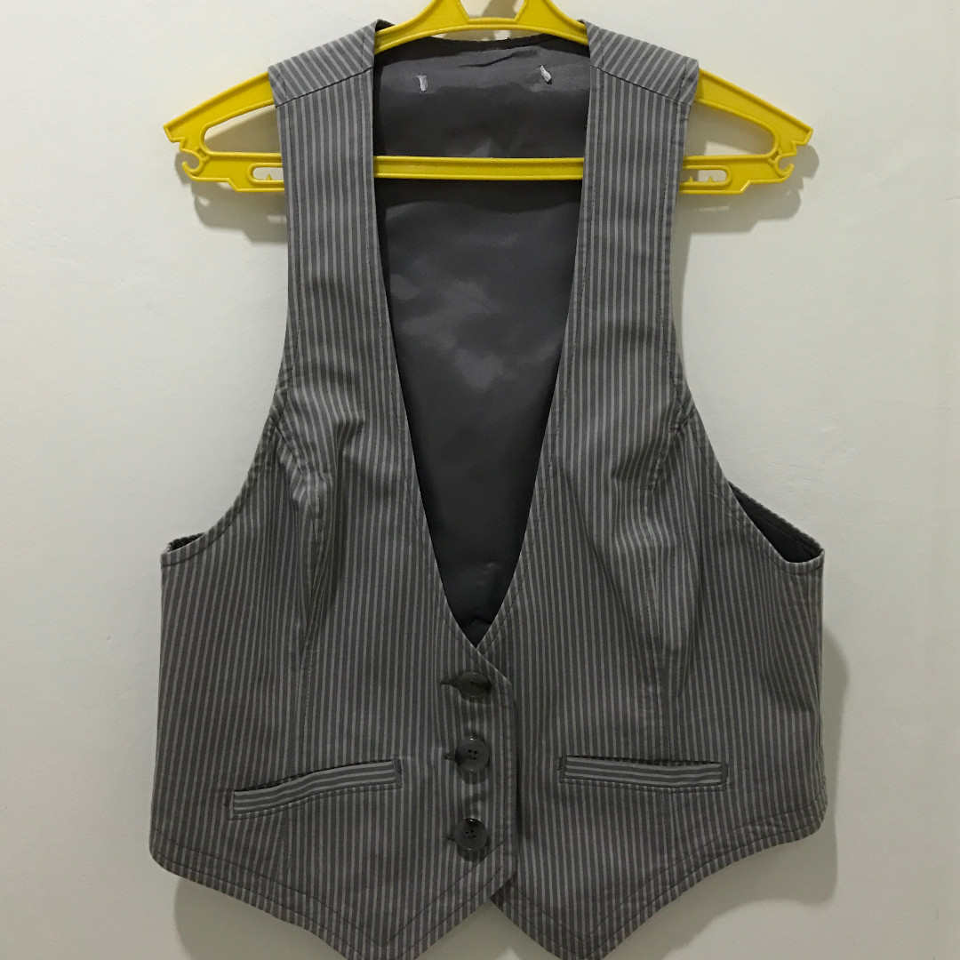 MANGO Striped Vest (size Small)