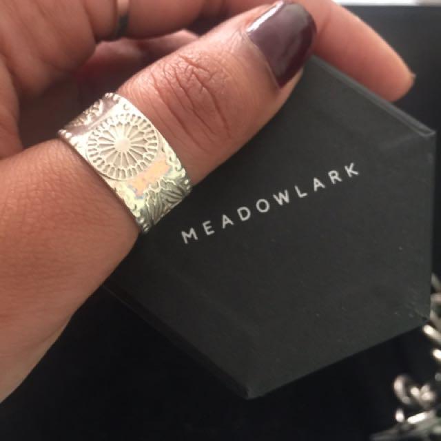Meadowlark ring