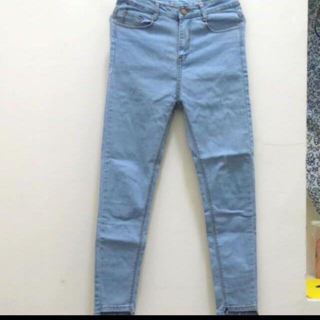 mooncat 牛仔褲