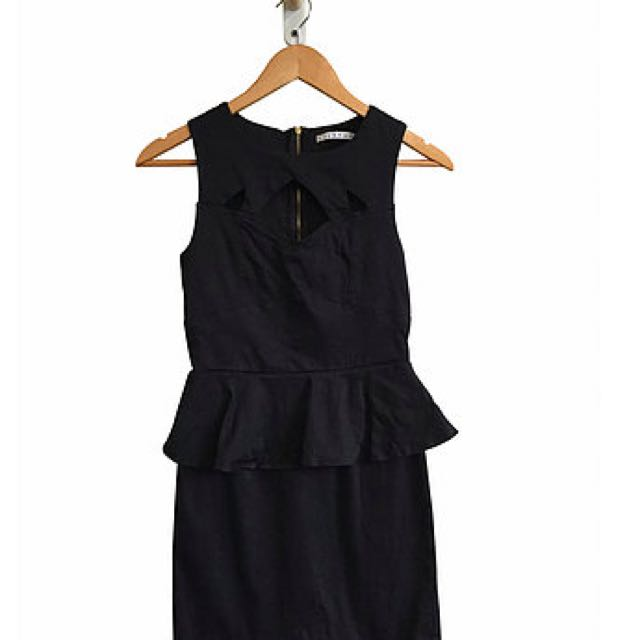 Mossman Peplum Dress (10)