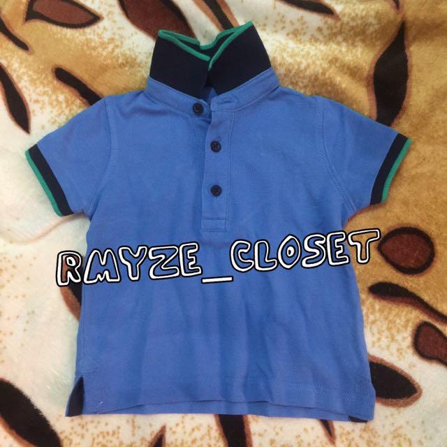 Mothercare Polo Shirt 6-9mos