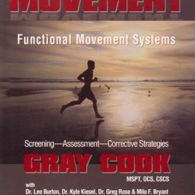 Movement book by Gray Cook (hardcover)