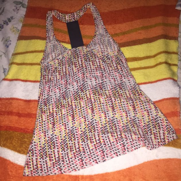 Multi Colored Sleeveless Top