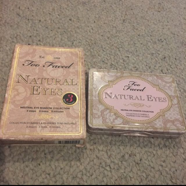 Natural eyes too faced palette