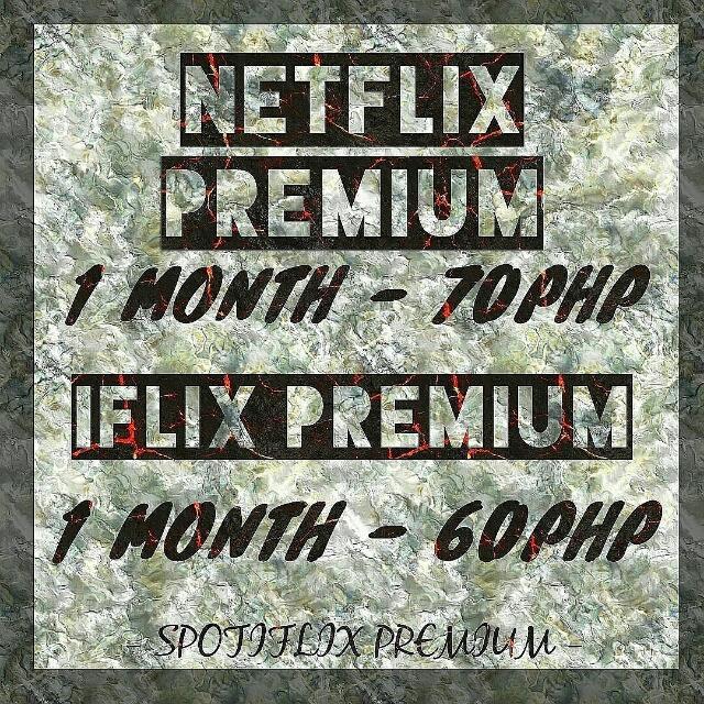 NETFLIX // IFLIX PREMIUM