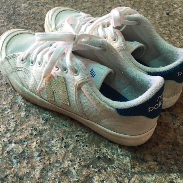 new balance nb proct 藍白復古平底鞋