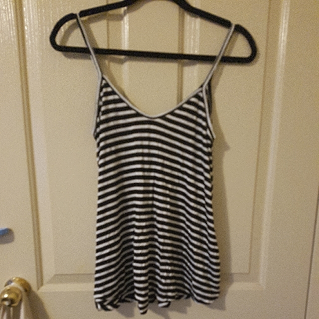 NEW GLASSONS striped top