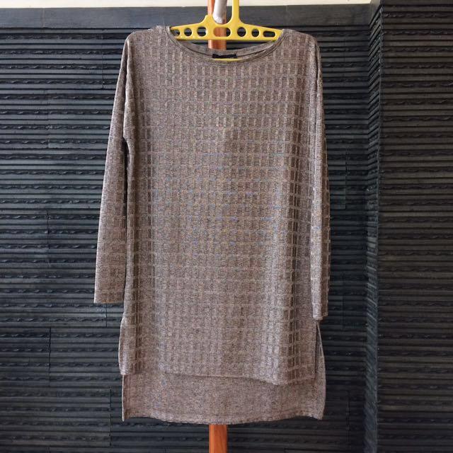 [NEW] Zara W&B Bronze Knit
