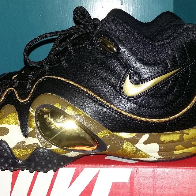 Nike Uptempo Camou Gold (JASON KIDD)