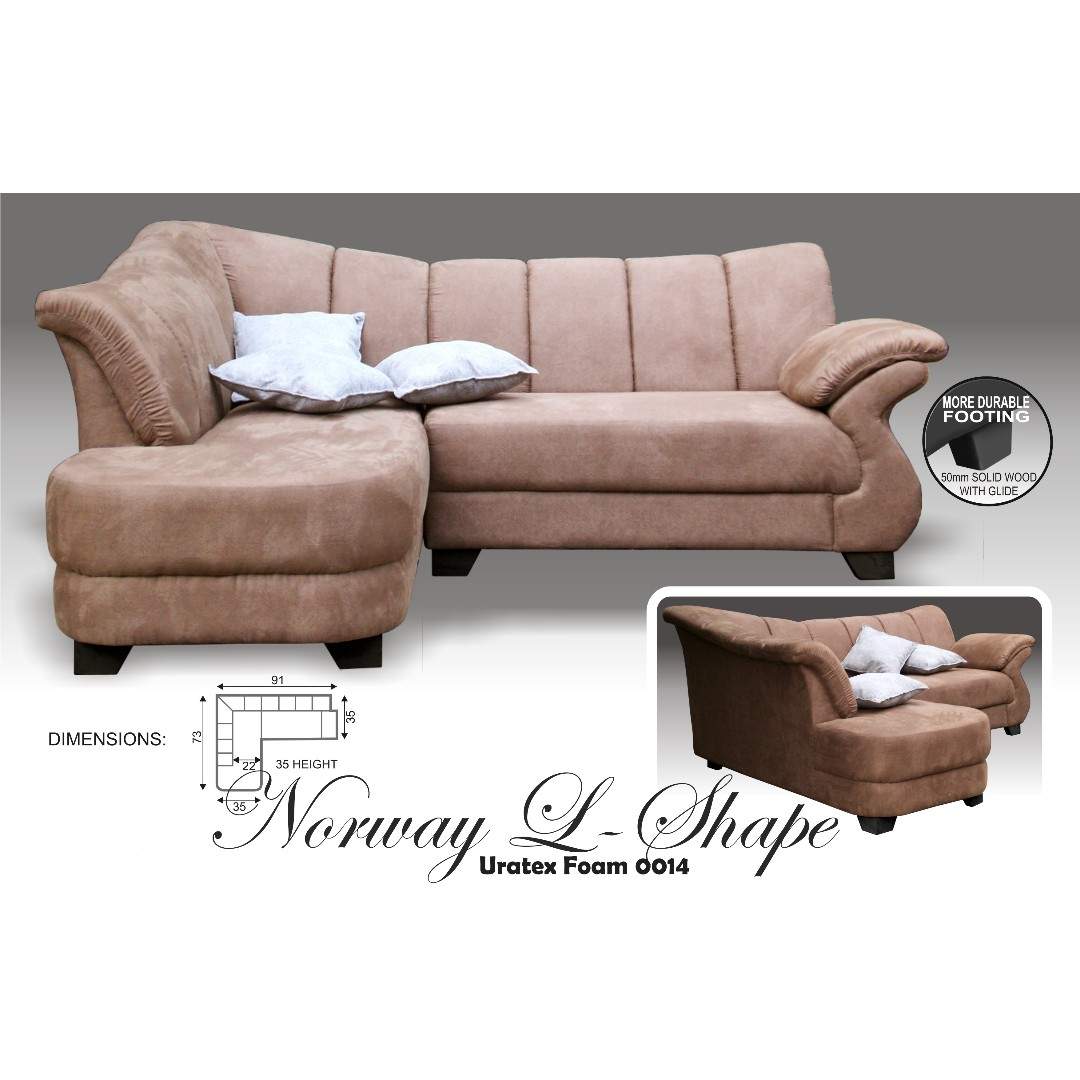 Second Hand Uratex Sofa Set